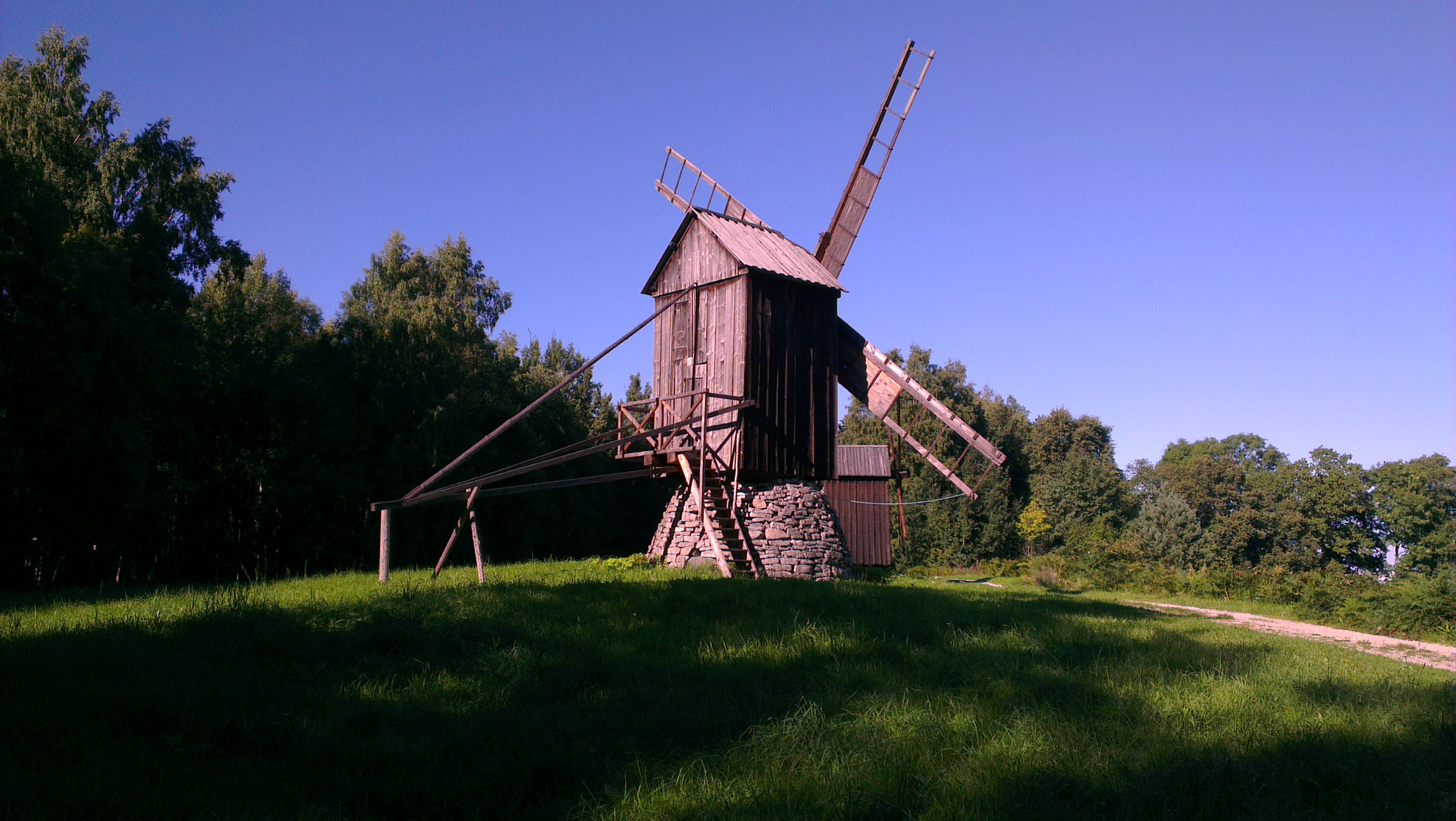 Windmill at The Estonian Open Air Museum
